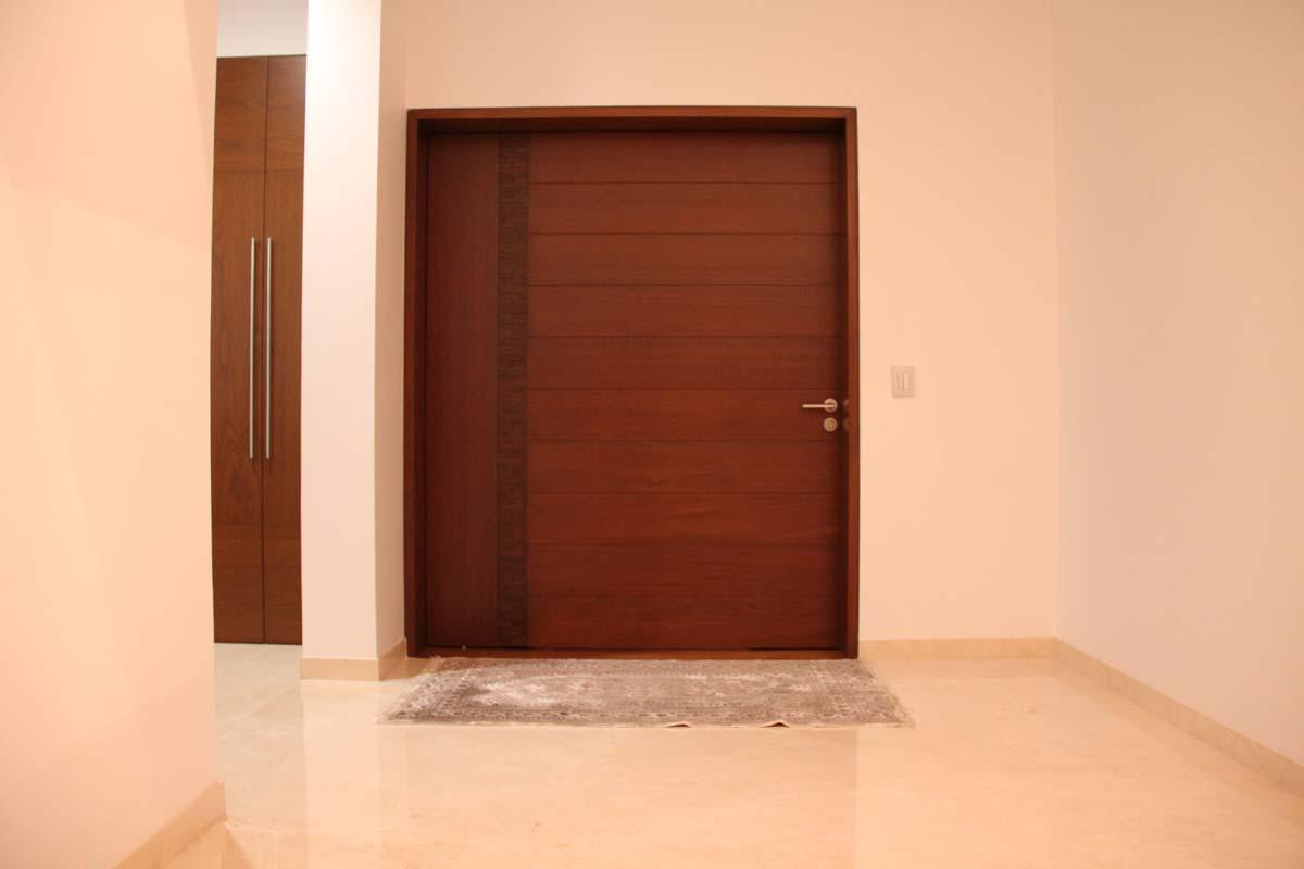 Puertas minimalistas jalisco y mexico bohom corp for Puertas minimalistas exterior